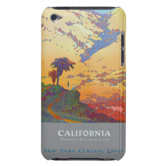 California Vintage Travel Poster Barely There iPod Covers