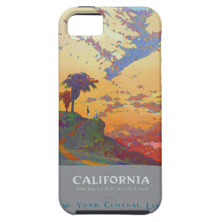California Vintage Travel Poster iPhone 5 Case