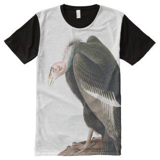 California Vulture (Condor), Audubon Fine Art All-Over Print T-Shirt