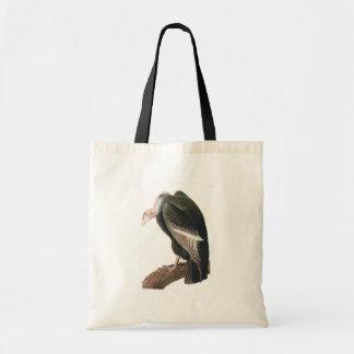 California Vulture (Condor), Audubon Fine Art Budget Tote Bag
