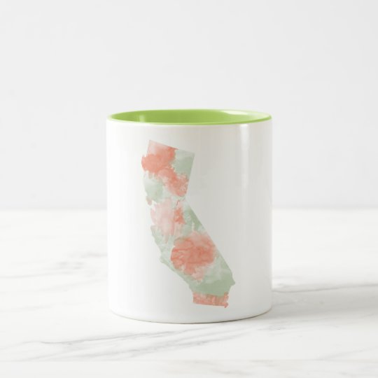 California Watercolor Mug