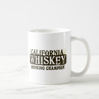 California Whiskey Drinking Champion Coffee Mug