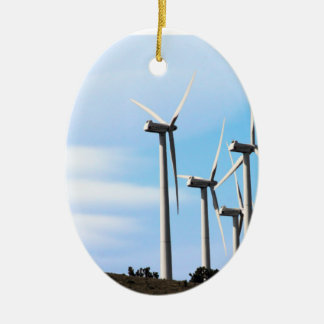 California Windmills Christmas Ornament