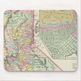 California with City of San Francisco Mouse Mat