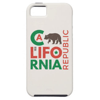 California With Grizzly Bear Logo iPhone 5 Covers
