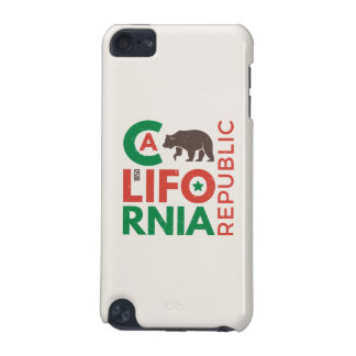 California With Grizzly Bear Logo iPod Touch (5th Generation) Cases