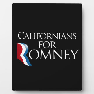 Californians for Romney-.png Plaque
