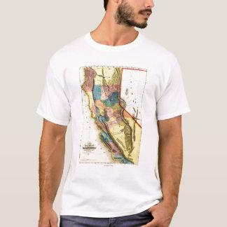 CaliforniaPanoramic Map T-Shirt