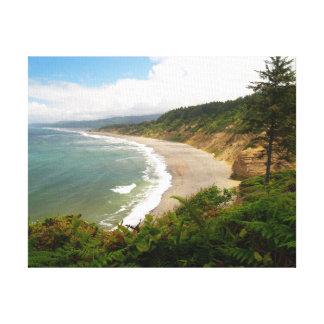 California's Agate Beach. Canvas Print