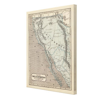 Californias Stretched Canvas Prints