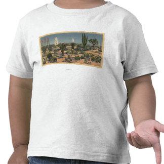 CaliforniaVarieties of Desert Cacti T-shirts