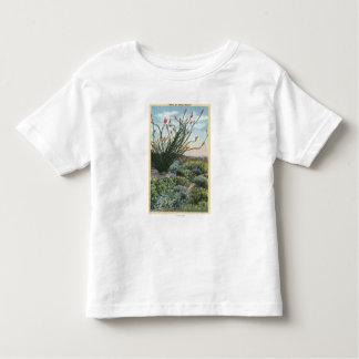 CaliforniaView of Cacti in Bloom Shirt