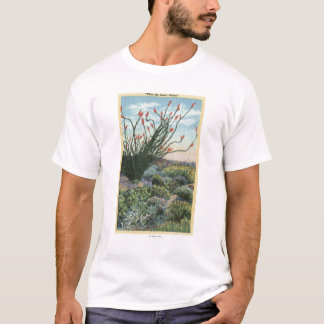 CaliforniaView of Cacti in Bloom T-Shirt