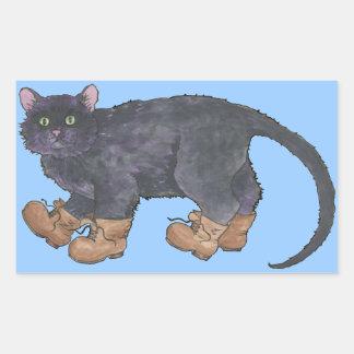 Caligula (Little Boots) Rectangular Sticker