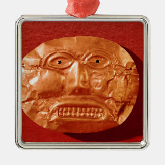 Calima funerary mask, from Restrepo, Cauca Christmas Ornament