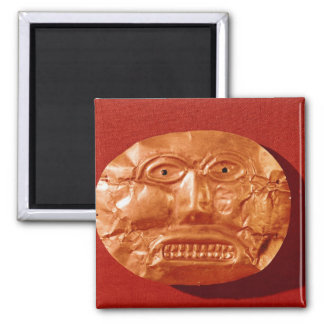 Calima funerary mask, from Restrepo, Cauca Square Magnet