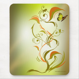 Caliope Mousepad Gold Yellow