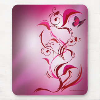 Caliope Mousepad Red Pink