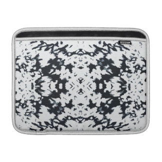 Calista Stylish Fashion Motif Design in White MacBook Sleeve