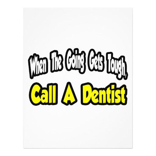 Call a Dentist Custom Flyer