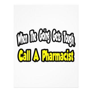 Call a Pharmacist 21.5 Cm X 28 Cm Flyer
