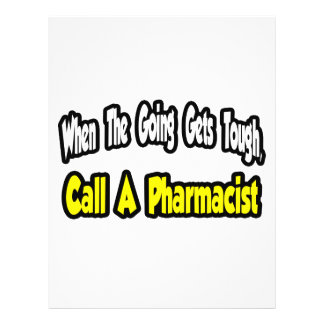 Call a Pharmacist Personalized Flyer