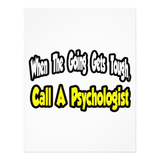 Call a Psychologist Personalized Flyer