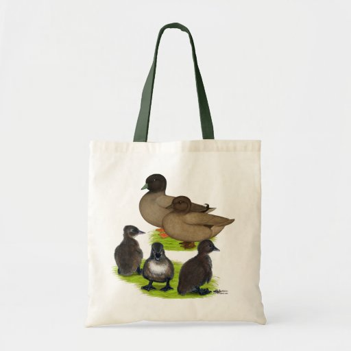 Call Duck Khaki Family Canvas Bag