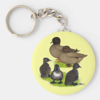 Call Duck Khaki Family Key Chains