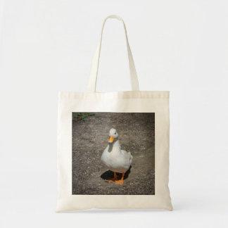 Call duck tote bag