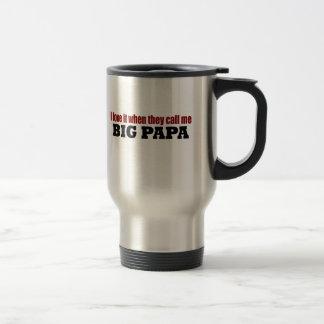 Call Me Big Papa Coffee Mug