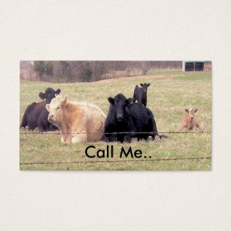 Call Me Cows Card