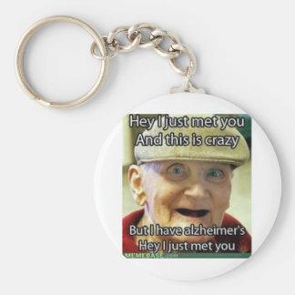 Call Me Crazy Key Ring