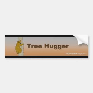 Call Me Crazy® Tree Hugger Bumper Sticker