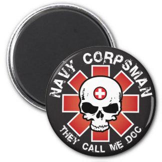 Call Me Doc 6 Cm Round Magnet