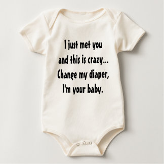 Call Me Maybe Baby Bodysuit