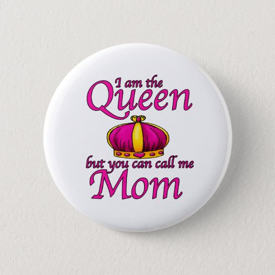 call me mum 6 cm round badge