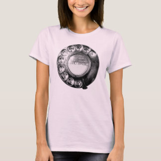 Call me! Old British Telephone Dial Design T-Shirt