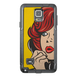 Call Me...Pop Art Print OtterBox Samsung Note 4 Case