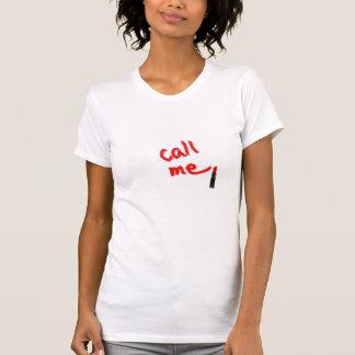 Call Me Womens Tshirt