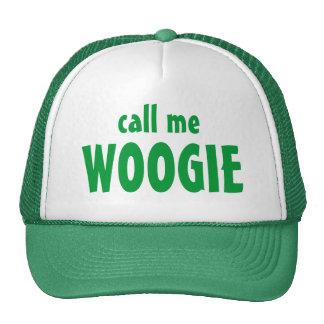 call me , WOOGIE Mesh Hats
