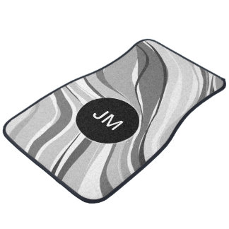 Call Monogram Modern Abstract Floor Mat