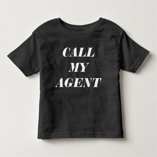 """CALL MY AGENT"" T-SHIRT"