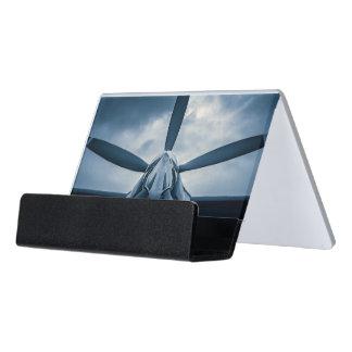 Call of the sky desk business card holder