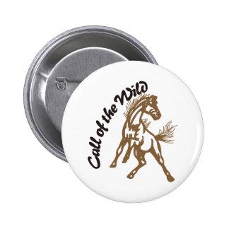 Call of the Wild 6 Cm Round Badge