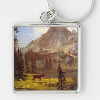 Call of the Wild by Albert Bierstadt 1876–77 Key Chains