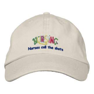 Call Shots Nurse Embroidered Baseball Caps