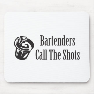 Call the Shots Mouse Pad