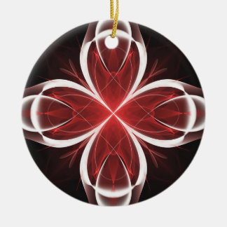 Calla Fractal Version 2 Christmas Ornament
