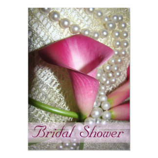 Calla Lilies Bridal Shower Invitation